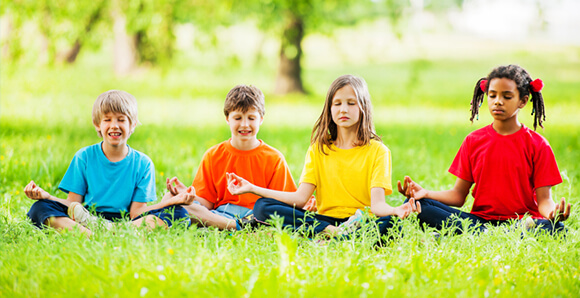 Stress Management Mediation Practice and Character Development Youth Workshop